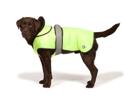 "Danish Design High Vis 2in1 Ultimate Dog Coat 25cm (10"")"