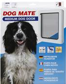Dog Mates Dog Door- Medium / White