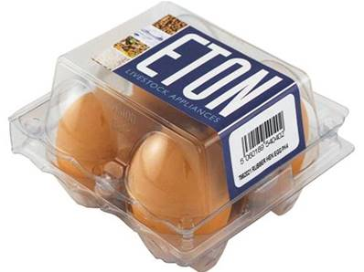 Eton Imitation Nesting Eggs, Rubber 4 Pack