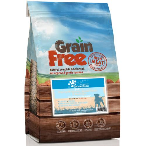 Pet Connection Grain Free Adult Dog Food (Light) - Trout & Salmon