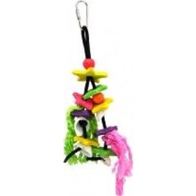 Latex Caribbean Ocean Mix Bird Toy
