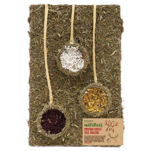Rosewood Naturals Christmas Baubles Treat Challenge