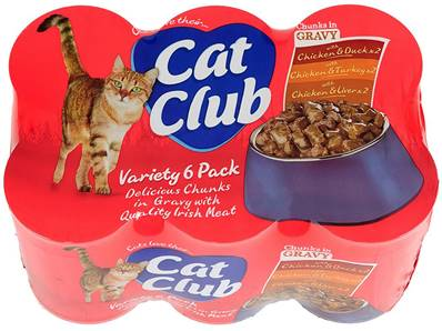 Cat Club In Gravy 6pk