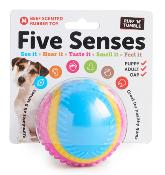 Five Senses Sensory Ball - Beef Scented Rubber Toy