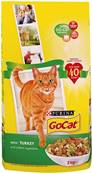 Go Cat Complete Dry Food Adult with Turkey & added Vegetables / 2kg