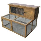 "Rabbit Hutch & Double Run 50"" LB-305"