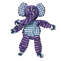 KONG Floppy Knots Elephant Dog Toy - Medium/Large