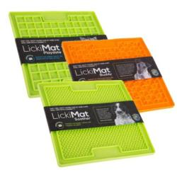 Lickimat for Dogs & Cats - Triple Pack (1 x Buddy, 1 x Playdate, 1 x Soother)