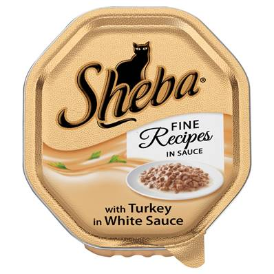 Sheba Cat Tray 85g Fine Recipes / Turkey in Sauce