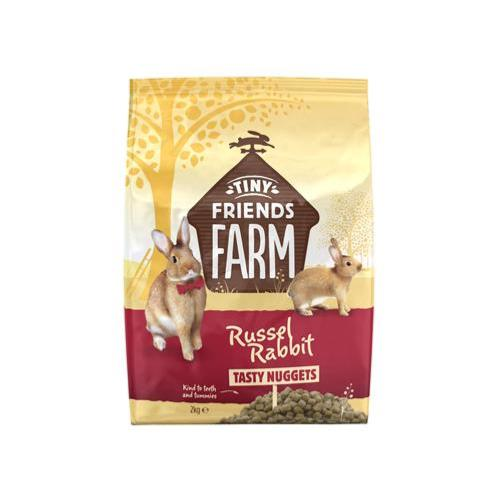 Tiny Friends Farm Russel Rabbit Food - Tasty Nuggets - 2kg