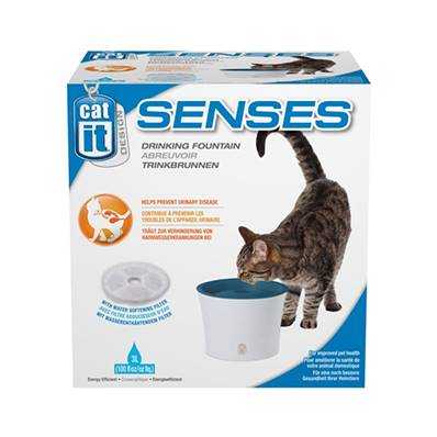 CatIt Water Fountain & Softening FIlter