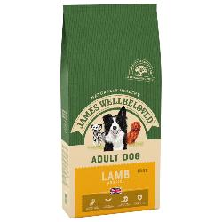James Wellbeloved Gluten Free Dog Food (Adult) - Lamb and Rice 15kg