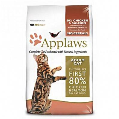 Applaws Dry Cat Food Chicken & Salmon / 400g