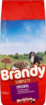 Brandy Complete Dog Food - Original 2.5kg