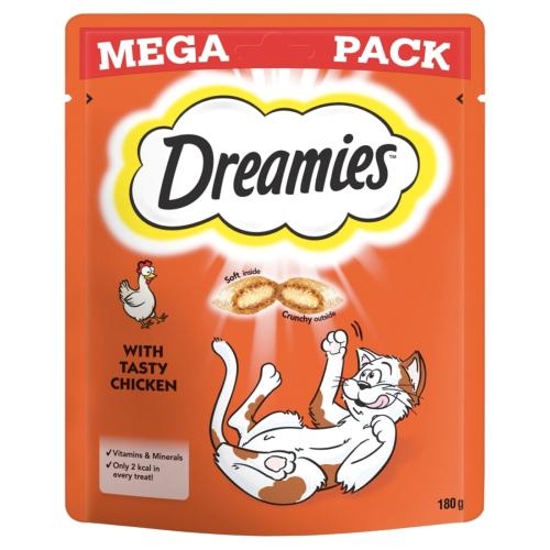 ASSISI ANIMAL SANCTUARY DONATION - Dreamies Mega Pack Chicken 180g