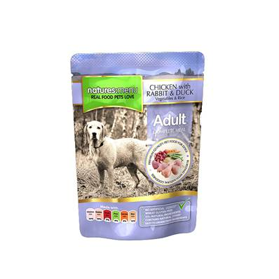 Natures Menu Wet Dog Food (Adult) - Chicken and Duck 300g