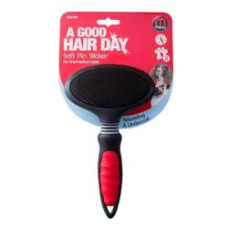 Mikki Soft Pin Slicker Brush For Fine/Medium Coat Medium