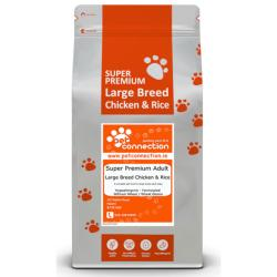 Pet Connection Super Premium Hypoallergenic Large Breed Dog Food (Adult) - Chicken and Rice 12kg