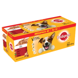 Pedigree Dog Pouches Mixed Selection In Jelly 40 For 36 X 100g