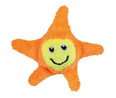 Trixie Jumping Star Plush Cat Toy