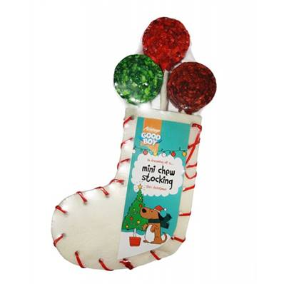 "Armitage Christmas Mini Chew Stocking 210mm (8"")"