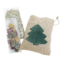 Rosewood Naturals Santa Gift Sackeroo For Small Pets