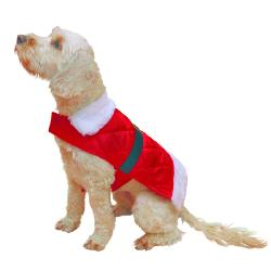 Rosewood Christmas Dress Up Santa Coat for Dogs
