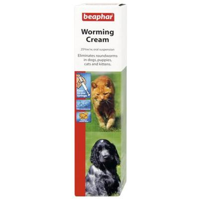 Beaphar Worming Cream 18gm