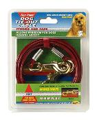 Four Paws Tie Out Cable Mediumweight 20 Foot