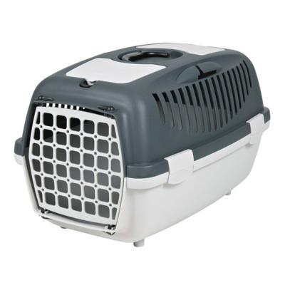 Trixie Pet Carrier For Cats, Small Dogs Or Rabbits Light Grey/Grey