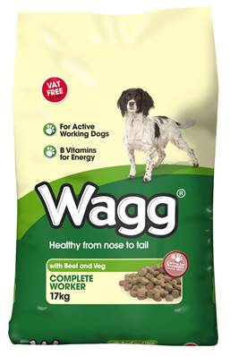 Wagg Worker Dog Food - Beef 17kg