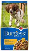 Burgess Dog Food (Adult) - Rich In Chicken 15kg
