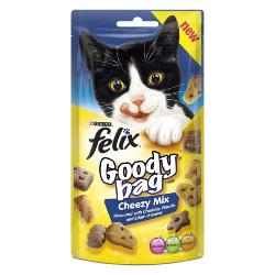 Felix Treats Goody Bag 60g Cheezy Mix