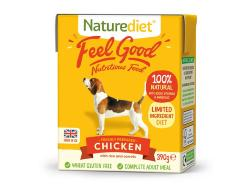 Naturediet Gluten Free Wet Dog Food (Adult) - Chicken, Veg and Rice 390g