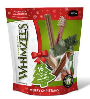 Whimzees Variety Pack - 16 Medium Chews