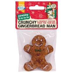 Armitage Pawsley Crunchy Gingerbread Man For Dogs