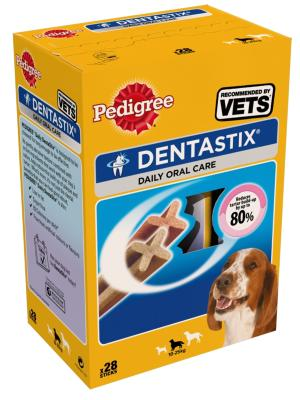 LURCHER SOS DONATION - Pedigree Dentastix Dental Treat Medium / 28 Pack