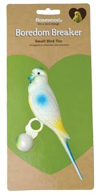 Rosewood Life Size Budgie