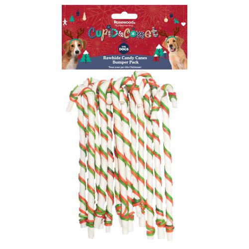 Rosewood Rawhide Candy Canes Bumper Pack