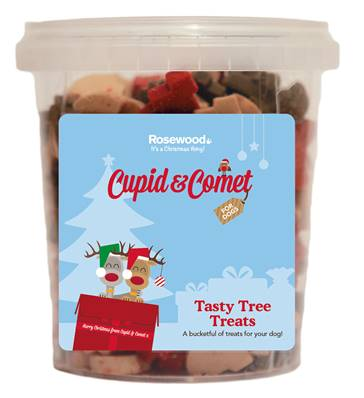 Rosewood Tasty Tree Treats For Dogs 500g