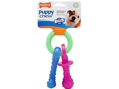 Nylabone Puppy Pacifier X-Small Bacon Flavour