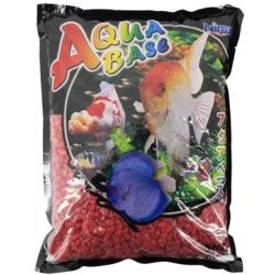 Aqua Base Sky Red Aquarium Gravel 1kg