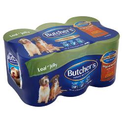 MANCHESTER & CHESHIRE DOGS HOME DONATION - Butchers Dog Food Tins - Original Recipes (12 X 400g)