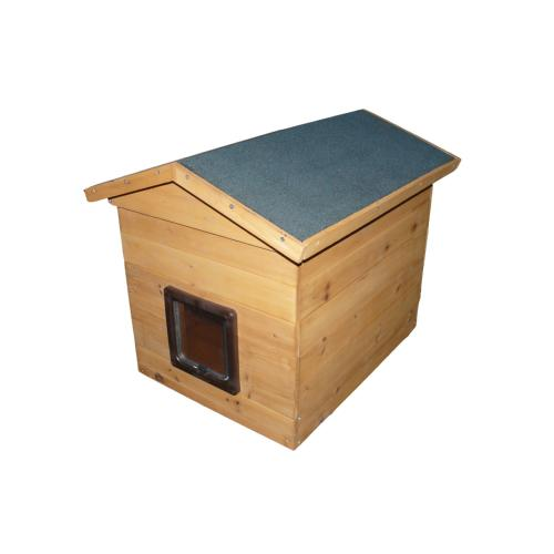 PHIBSBORO CAT RESCUE DONATION - Cat Kennel With Flap Large