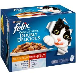 CLAWS Donation - Felix AGAIL Doubly Delicious Variety Pack