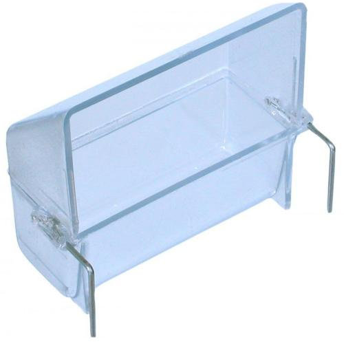 Hatchwells Clear Plastic Canary Seed Hopper