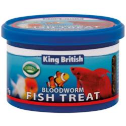 King British Bloodworm Natural Food 7g