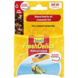 Tetrafresh Delica Natural Bloodworm Snack Pouches