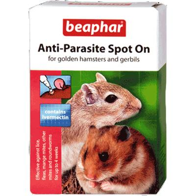 Beaphar Anti-Parasite Spot On Small (Hamsters, Gerbils)