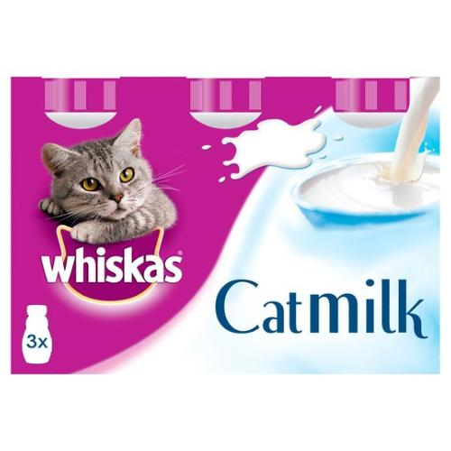CLAWS Donation - Whiskas Cat Milk 3 Pack